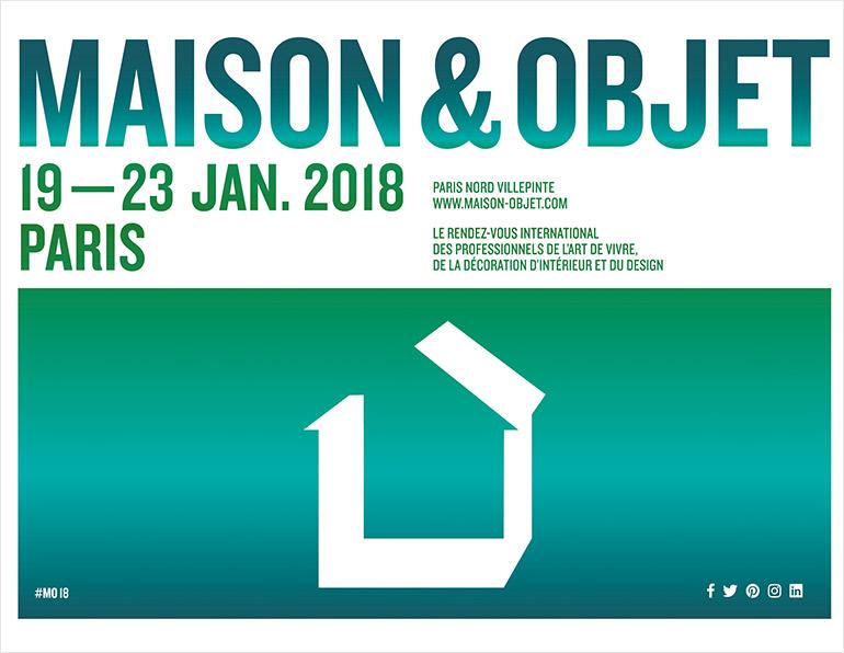 Salon maison et objet : Paris 2018