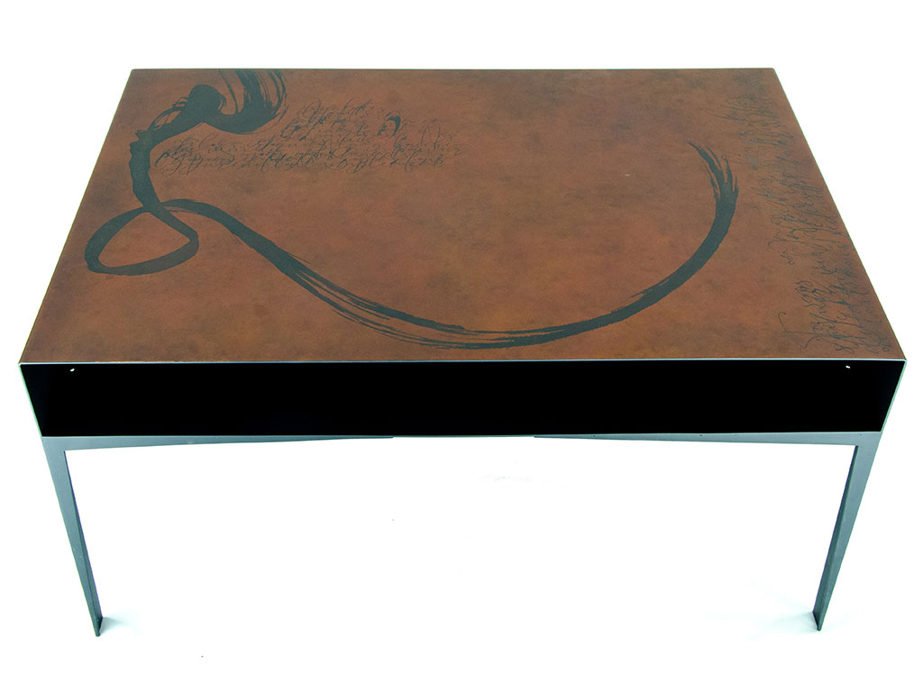"Table basse ""Canopée"" Création Romuald Fleury"